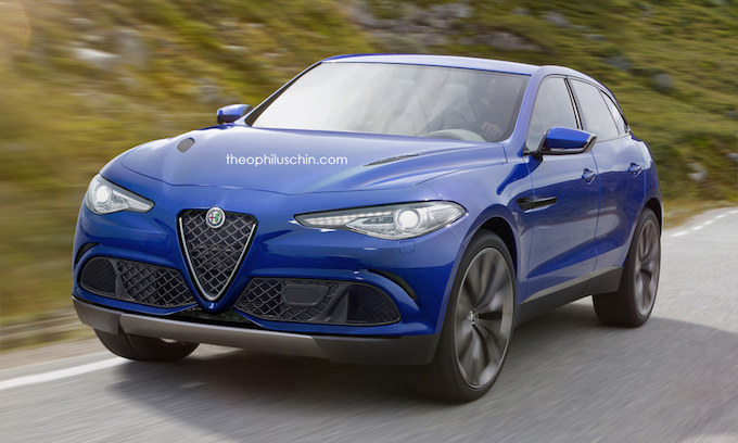 alfa romeo stelvio 2017 un suv dans les starting blocks. Black Bedroom Furniture Sets. Home Design Ideas