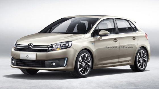 Citroën C4 2017 non officiel