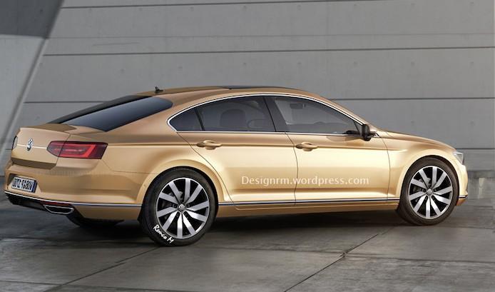 Volkswagen Passat Coupe 2016