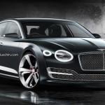 Bentley Continental Coupé 4 portes