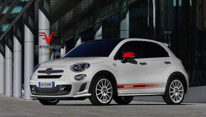 fiat 500x abarth la sportive familiale. Black Bedroom Furniture Sets. Home Design Ideas
