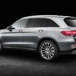 Mercedes GLC 2016 de profil