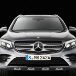 Mercedes GLC 2016 de face