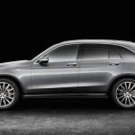 Mercedes GLC 2016 de coté