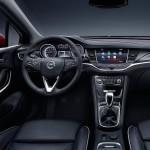 Opel Astra 2016 officielle intérieur