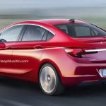 Opel Astra 2016 sedan