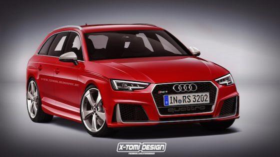 Audi RS4 2016