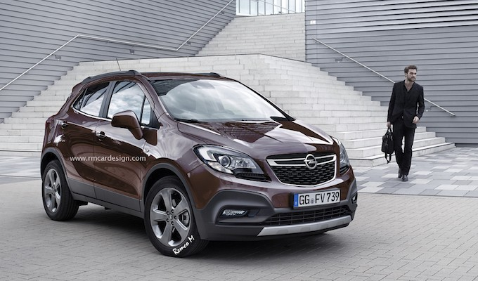 opel mokka 2016 un restylage dans les cartons. Black Bedroom Furniture Sets. Home Design Ideas