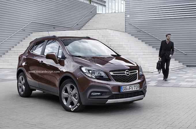 Opel Mokka 2016 avant