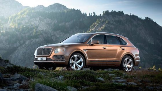 Bentley Bentayga 2016 officiel