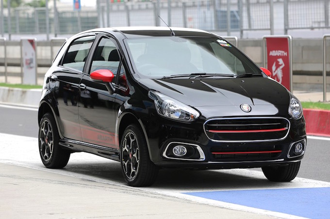 Fiat Abarth Punto 2015 India