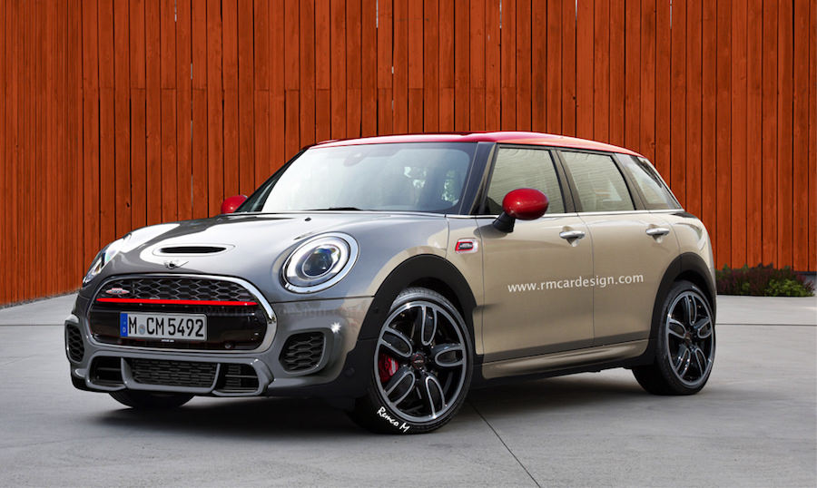 mini clubman john cooper works 2016 un break sportif pour la ville. Black Bedroom Furniture Sets. Home Design Ideas