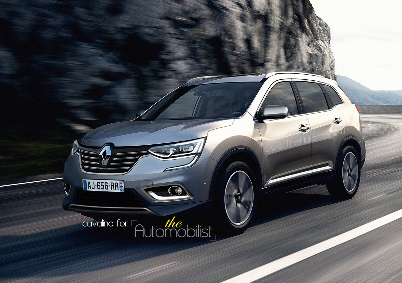 renault koleos 2017 la famille suv s 39 agrandie. Black Bedroom Furniture Sets. Home Design Ideas