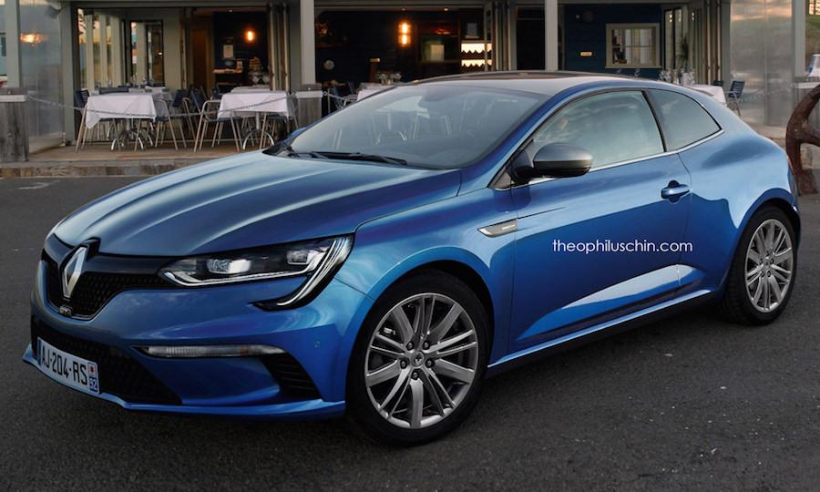 Renault Megane Coupé 2016