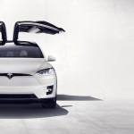 Tesla Model X 2016 doors