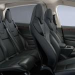 Tesla Model X 2016 bask seats