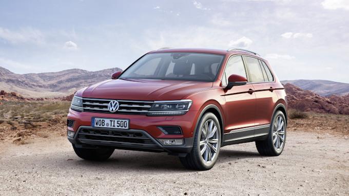Volkswagen Tiguan 2016 officiel