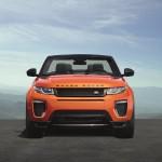 Range Rover Evoque Cabriolet officiel avant