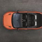 Range Rover Evoque Cabriolet officiel ouvert