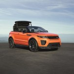 Range Rover Evoque Cabriolet officiel