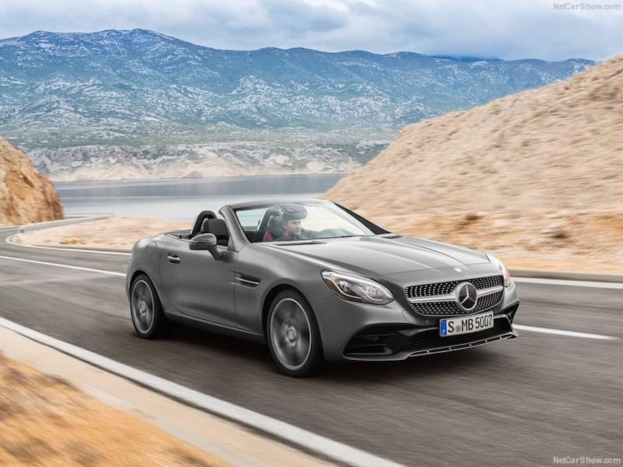 Mercedes SLC 2017 photos officielles