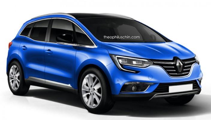 Renault Scénic 2017 : Attendu pour le Salon de Genève