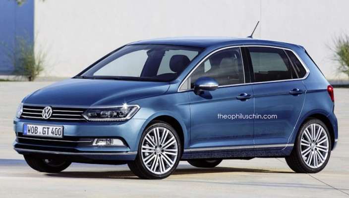 volkswagen polo 2017 une nouvelle citadine prochainement. Black Bedroom Furniture Sets. Home Design Ideas