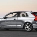 Volvo C30 2017 arrière