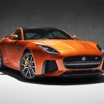 Jaguar F-Type SVR avant officielle