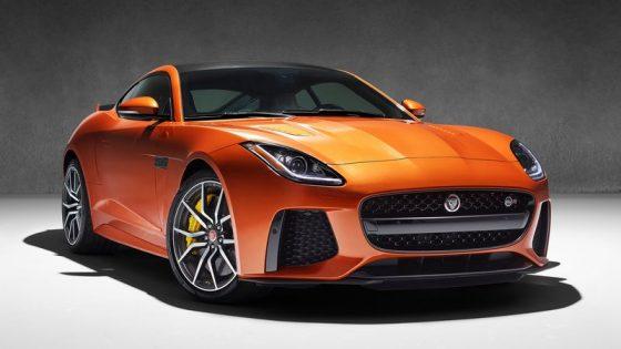 Jaguar F-Type SVR avant officielle