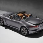 Jaguar F-Type SVR cabriolet officielle arrière