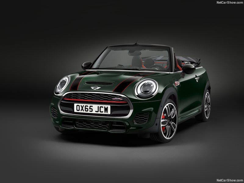 Mini John Cooper Works Cabriolet 2016 officiel