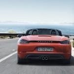 Porsche 718 Boxster arrière