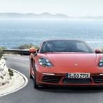Porsche 718 Boxster avant