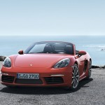 Porsche 718 Boxster face