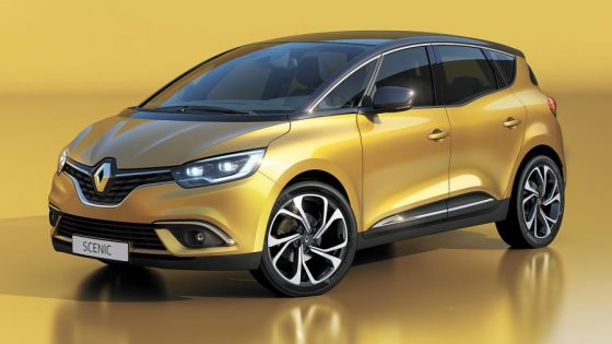 Renault Scénic 2016 jaune