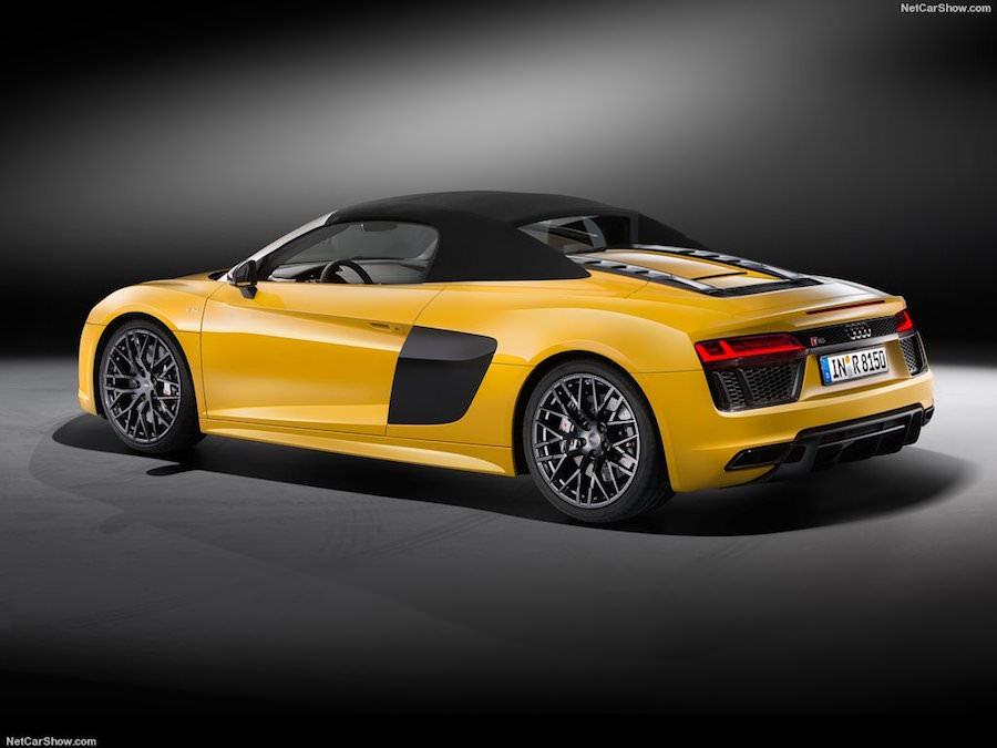 Audi R8 Spyder 2017 officiel