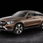 Mercedes GLC Coupé 2017 profile