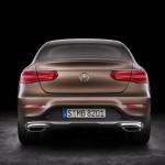 Mercedes GLC Coupé 2017 arrière