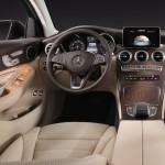 Mercedes GLC Coupé 2017 intérieur