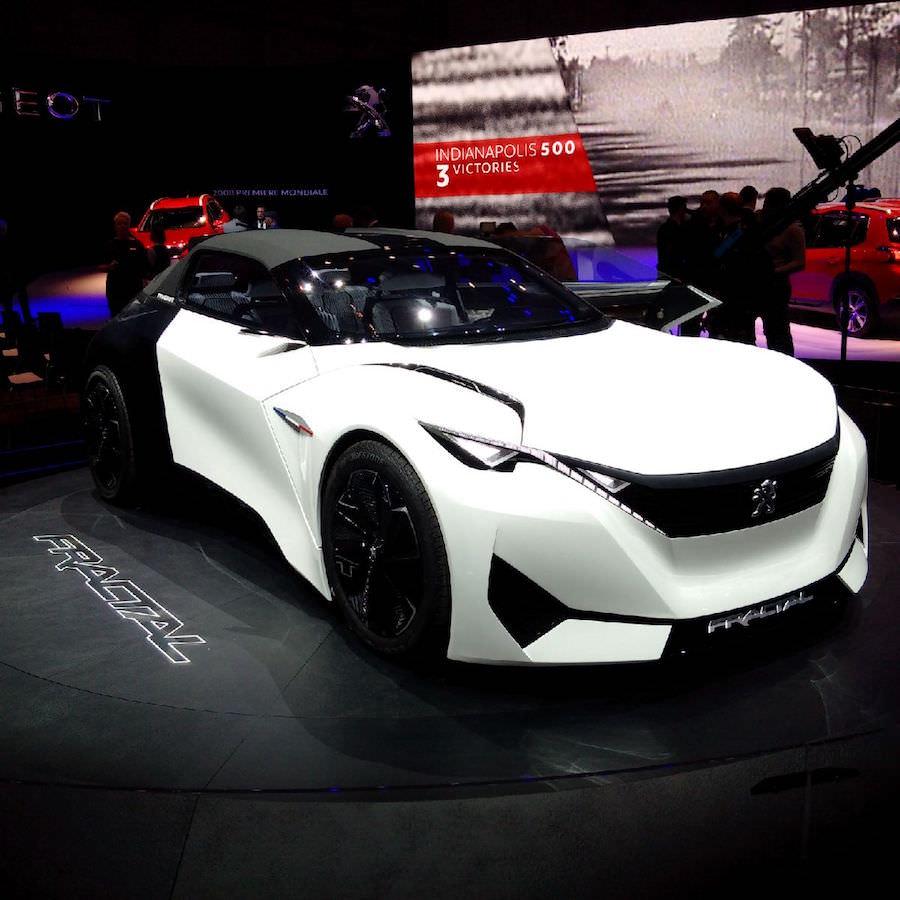 Peugeot Fractal Concept Genève
