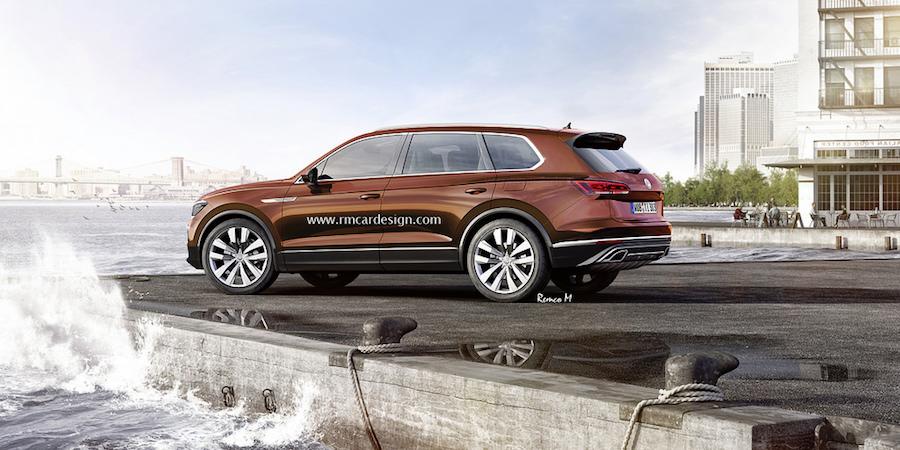 Volkswagen Touareg 2018 Pour Suivre De Pr 232 S La Concurrence
