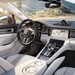 Porsche Panamera 2017 console centrale
