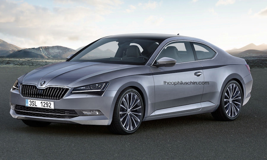 Skoda Superb Coupé