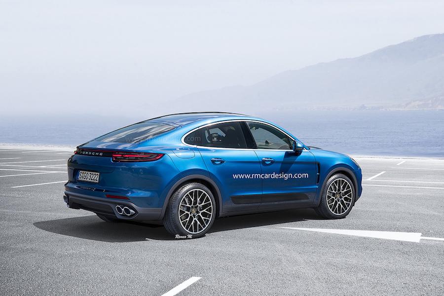 Porsche Cayenne Coupé 2018 proposition-1