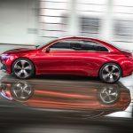 Mercedes Concept A Sedan profile