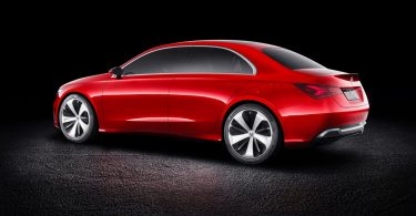 Mercedes Concept A Sedan profile