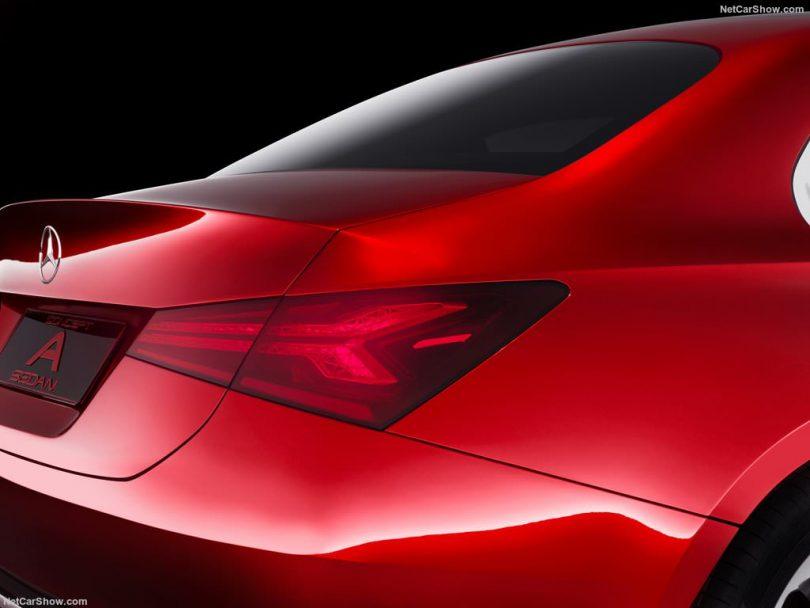 Mercedes Concept A Sedan arrière