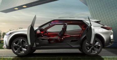 Chevrolet FNR-X 2017 portes ouvertes