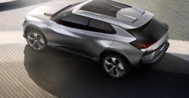 Chevrolet FNR-X 2017 3/4 arrière